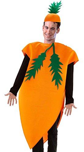 Folat 21977 - Karotten Kostüm, One Size, ()