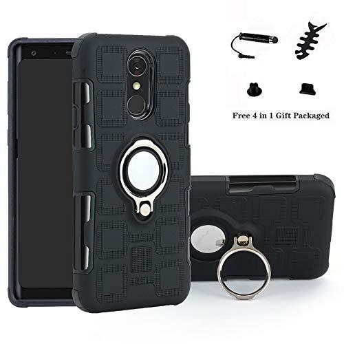 314e36df5a9 LFDZ Galaxy S10 5G Anillo Soporte Funda, 360 Grados Giratorio Ring Grip con  Gel TPU Case Carcasa Fundas para Samsung Galaxy S10 5G Smartphone(Not fit  Galaxy ...