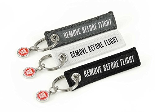 portachiavi-remove-before-flight-mini-edition-3-pezzi-nero-bianco-grigio-