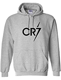 341af2ba8a6eae VinylStudio Cristiano Ronaldo CR7 Light Kids Hoodie 80% Cotton   20%  Polyester