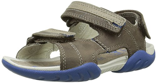 Clarks Mirlo Air Inf, Jungen Sandalen, Braun (Brown Combi Lea), 29 EU (11 Kinder UK)
