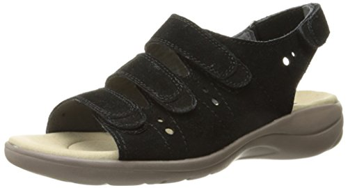 Clarks Saylie Witman Fisherman Sandal Black