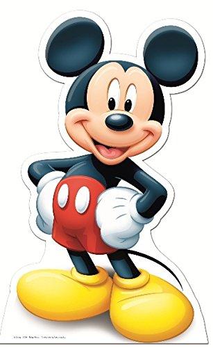 Pappaufsteller Mickey Maus / Mouse Standup Figur Kinoaufsteller Pappfigur Cardboard Lebensgroß Life-Size Standup (Pappaufsteller Mouse Mickey)