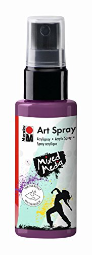 Marabu 120905039 - Art Spray, 50 ml, violett (Lila Spray-flasche)