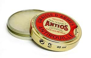 2 Boites Antios graisse d'armes Antirouille 40 ml