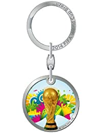 1 Porte clé Coupe du Monde de Football 2014 au Brésil - Collection officielle FIFA WORLD CUP BRASIL 2014