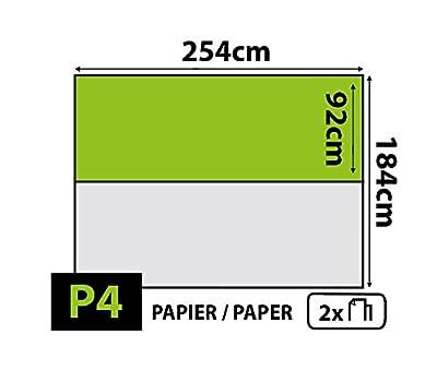 'delester Design 1042vev50Décor Wandtattoo Heldinnen Disney-Papier Vlies Vinyl