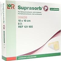 Suprasorb P PU-Schaumverband 10x12 cm Nicht Klebend, 8 St preisvergleich bei billige-tabletten.eu