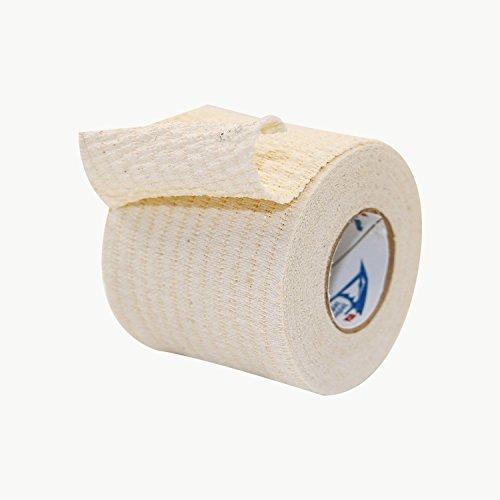JayBird & Mais 4500 Jaylastic elastisches, leichtgewichtiges Athletik-Elastikband, weiß, 2 in. x 7-1/2 yds.