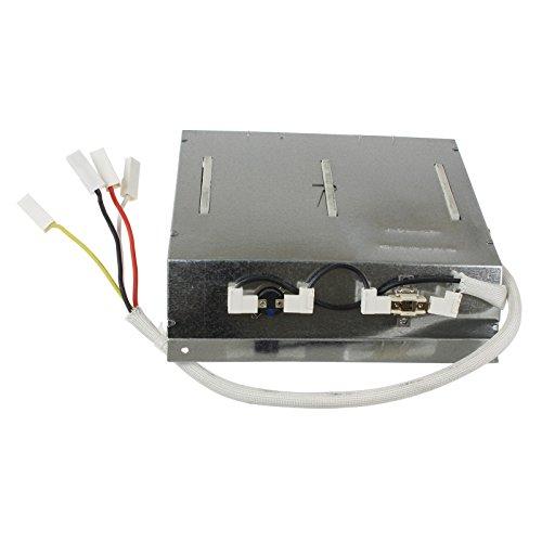 Qualtex 2400W elemento calefactor y termostatos para secadoras Otsein