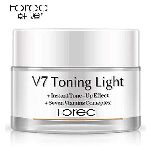 BIOAQUA V7 Toning Light Cream for Lazy Makeup Multivitamin...