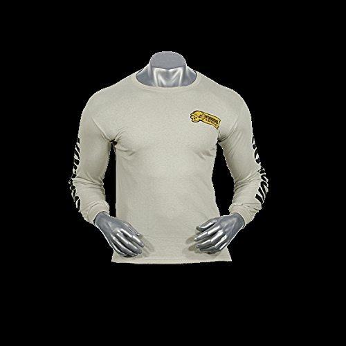 Voodoo Tactical T- Shirt Long Sleeve Skull Sniper Scharfschütze (Sand, XXL)