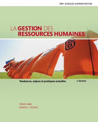 La gestion des ressources humaines, 5e