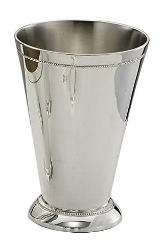 Royal Queen - Sheffield Tumbler Beaded style - cod. 5107861F - L. 8 cm - W. 8 cm - H. 10 cm - Ø8