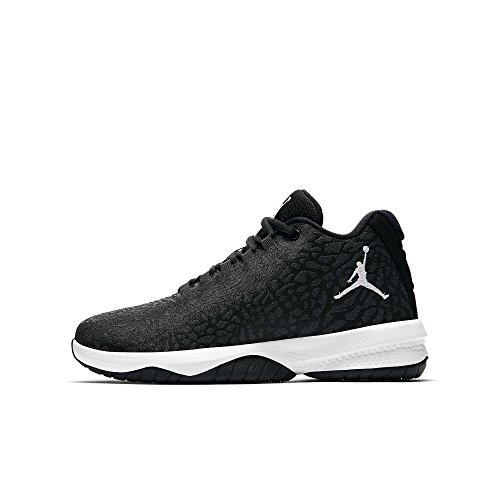 Nike Unisex-Kinder Jordan B. Fly (BG) Basketballschuhe, Grau (Anthracite/White/Black 009), 36 EU