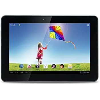 """Hannspree SN1AT71B - Tablet de 10.1"""" (WiFi + Bluetooth, 16 GB, 1 GB RAM, Android 4.1, 1.2 GHz ARM Cortex-A9), color negro"""