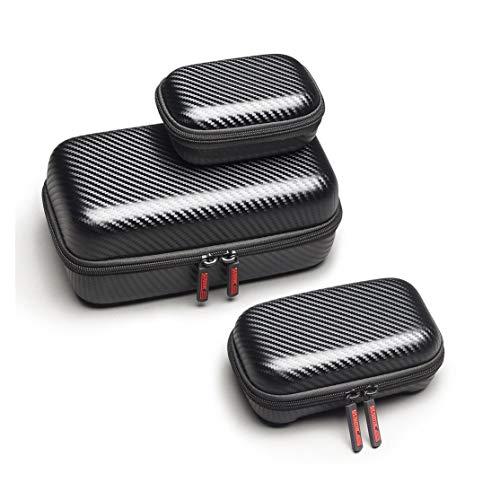 Preisvergleich Produktbild LouiseEvel215 Drohne Körper tragbares Paket PU Tasche Fernbedienung Batterie wasserdicht Hardshell Gehäuse Tasche Set für DJI Mavic 2 Pro