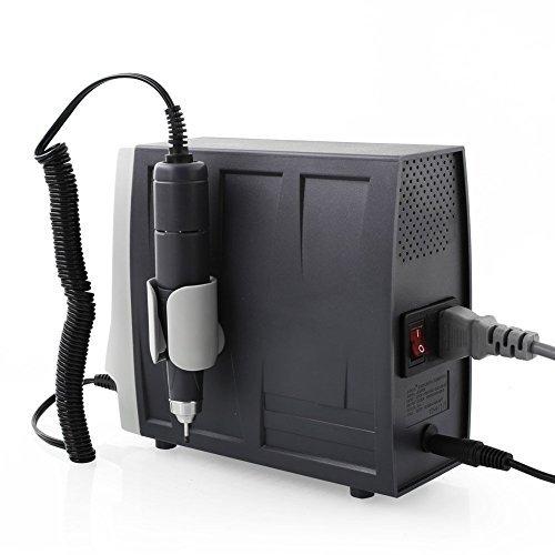 JSDA Professioneller Nagelfräser JD5500 Hochleistung Studio Auch Für Privaten Gebrauch Inklusive Fußpedal und 4 Bits, 35000 U/Min - 5