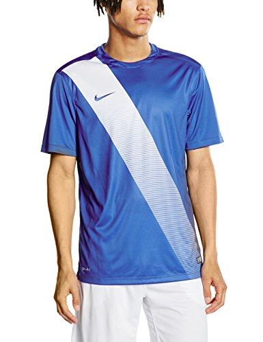 Nike, Maglia a maniche corte Uomo Multicolore - Royal Blue/Football White/Royal Blue