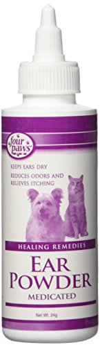 Artikelbild: Four Paws Ear Powder 24 grams Reducing Ear Odor Aids Relief of Itching Dry