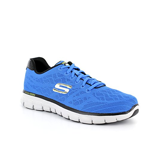 Skechers Sport Synergy Fine Tune Oxford Bleu royal/noir
