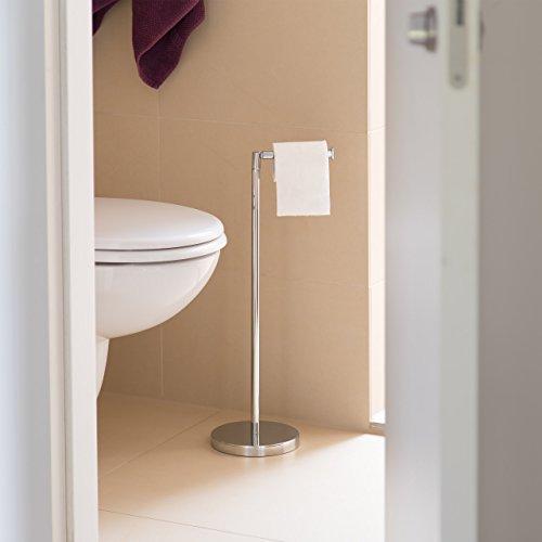 Delightful Relaxdays Toilettenpapierhalter Stehend HBT 75 X 22 X 16,5 Cm Freistehender  Papierrollenhalter Aus Stahl Home Design Ideas