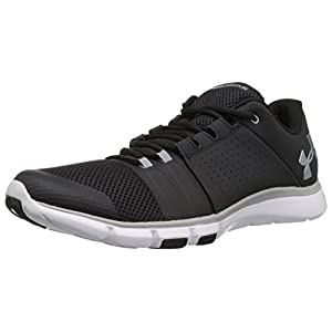 Under Armour Ua Strive 7, Scarpe Sportive Indoor Uomo, Nero (Black), 40.5 EU