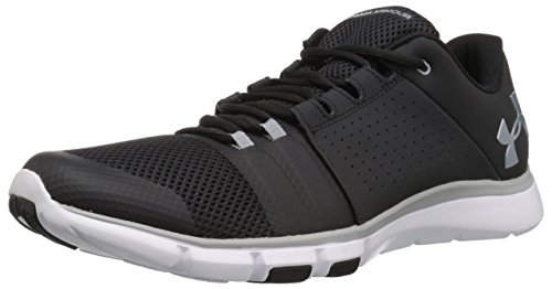Under Armour Herren UA Strive 7 Hallenschuhe, Schwarz (Black 001), 43 EU -