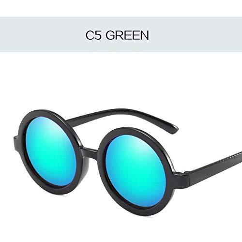 GNLLYOPWeinlese-Kleine Sonnenbrille-Frauen-Prinz Mirror Sun Glasses Retro Designer Coating Eyeglasses Ultralight Circle Glasses