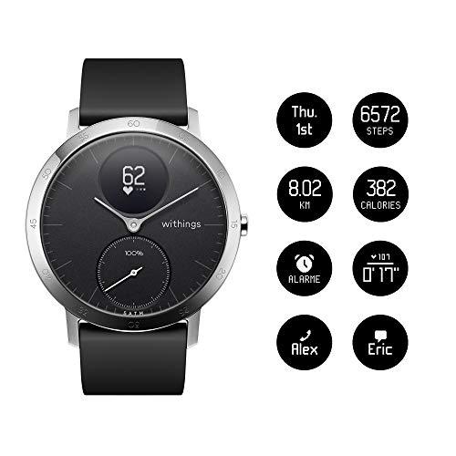 Zoom IMG-3 nokia steel hr orologio monitoraggio