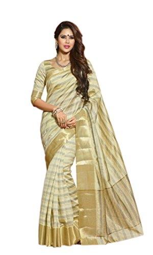 Rajshri Fashions Tissue Saree (Saashk2024_White)