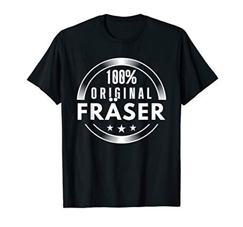 Herren Lustiges Fräser T-Shirt - 100% Original Fräser CNC Geschenk -