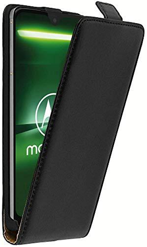 tomaxx FlipCase für Motorola G7 Plus Flip Schutzhülle Hülle Klapphülle Case Tasche mit Magnetverschluss