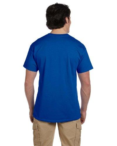 Fruit of the Loom Herren T-Shirt, Einfarbig Blau - Königsblau
