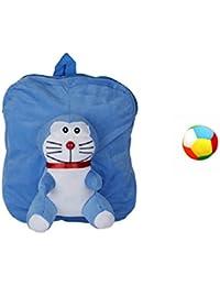 Jrp Mart Blue Full DOBOX Soft Toy Bag With Little Ball