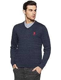 US Polo Association Men's Cotton Sweater
