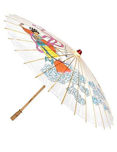 Geisha Kostüm Asiatische - Sonnenschirm im asiatischen Stil