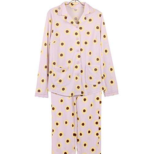 pigiama di cotone di autunno/Stampati Pigiama tuta morbida/ yukata B