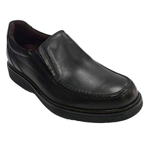 Zapato Hombre Sport Piso Goma Pitillos Negro Talla