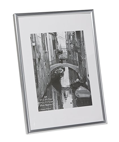 A4MARSILNG Silver Backloader A4 Certificate / Photo / Picture Frame Non Glass
