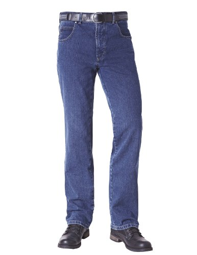 "PIONIER Hose ""PETER"" - 5-Pocket - Comfort Fit Blau"