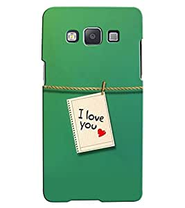 Citydreamz I Love You\Valentine Hard Polycarbonate Designer Back Case Cover For Samsung Galaxy Core Prime G360H/G361H