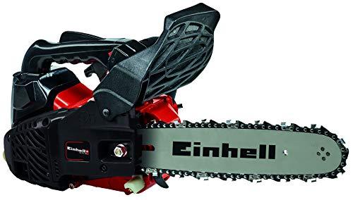 Einhell 4501842 Motosierra de gasolina, Rojo, Negro