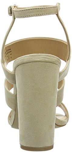 Aldo - Winfrey, Scarpe col tacco con cinturino a T Donna Avorio (Elfenbein (Bone / 32))