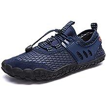 WYSBAOSHU Zapatos de Agua Deportes Escarpines para Hombre Mujer b7db04cd06b