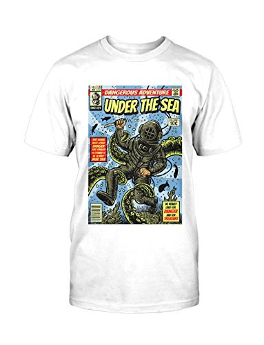 Under The Sea T-Shirt Neu Fun Funshirt Comic Vintage Used Kult Retro Blogger (Geek Halloween Kostüme Für Männer)