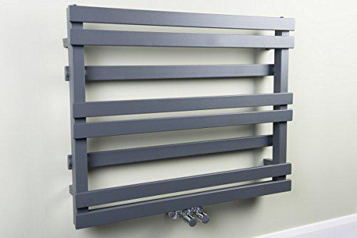 Scaldasalviette termosifone di design 616x800 mm grigio climat
