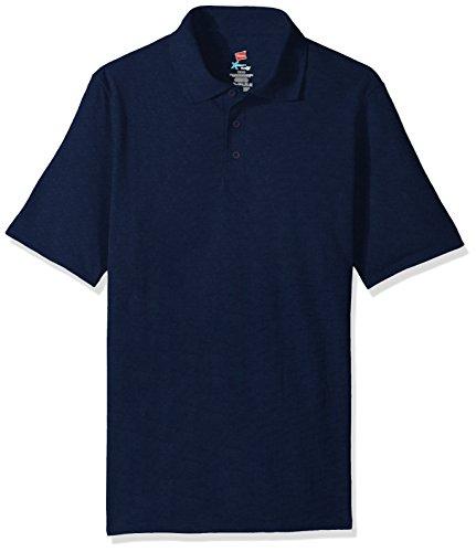 Hanes Herren Poloshirt Navy