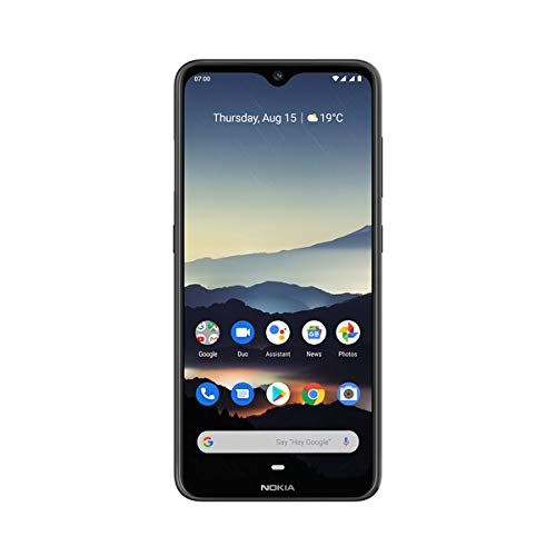 Nokia 7.2 6.3-Inch Android UK SIM-Free Smartphone with 4GB RAM and 64GB Storage (Dual SIM) - Charcoal Best Price and Cheapest
