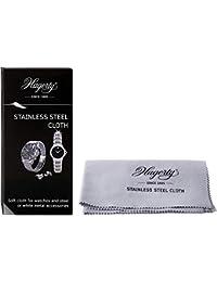 Hagerty A116312 - Paño de limpieza de acero inoxidable para relojes y accesorios